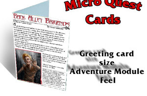 RPG Micro Quest Cards