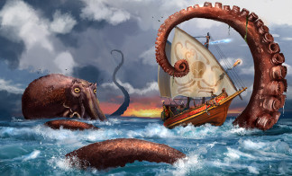 Luke Gygax, Jim Ward, Lloyd Metcalf - Get Kraken!