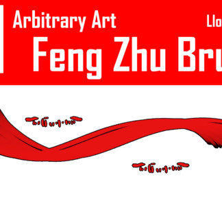Making a Feng Zhu Brush for Photoshop